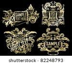 tribal vector golden set