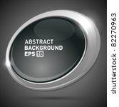 speech bubble as screen with... | Shutterstock .eps vector #82270963