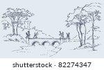 Vector Image. Sketch Of A...