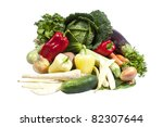 fresh vegetables | Shutterstock . vector #82307644