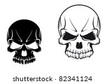 Danger Evil Skulls For Tattoo...
