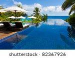 hotel rest exotic | Shutterstock . vector #82367926