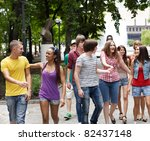 multi ethnic group of people... | Shutterstock . vector #82437148