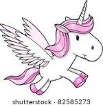 unicorn pegasus vector... | Shutterstock .eps vector #82585273