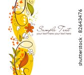autumn background | Shutterstock .eps vector #82643476
