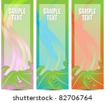 vertical decorative web banners   Shutterstock .eps vector #82706764