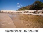 Tropical stream - stock photo