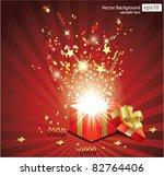 christmas vector background | Shutterstock .eps vector #82764406