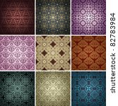 Set Of 9 Seamless Patterns....