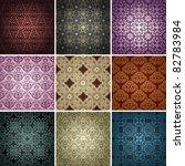 Set Of 9 Seamless Patterns....