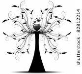 beautiful abstract art tree on...   Shutterstock .eps vector #82812214