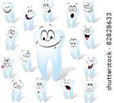 tooth | Shutterstock .eps vector #82828633
