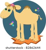 camel in the night | Shutterstock .eps vector #82862644