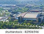 aerial view of the shopping... | Shutterstock . vector #82906546