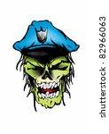 zombie | Shutterstock .eps vector #82966063