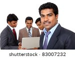 group of indian business people ... | Shutterstock . vector #83007232