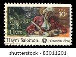 usa   circa 1975   a stamp... | Shutterstock . vector #83011201