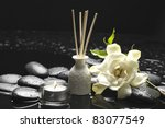 tranquil spa scene   reed...   Shutterstock . vector #83077549