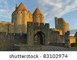 Castle Of Carcassonne  France....