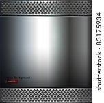 background   polished metal... | Shutterstock .eps vector #83175934
