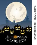 halloween eight | Shutterstock .eps vector #83205898
