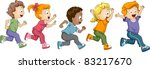 illustration of kids... | Shutterstock .eps vector #83217670