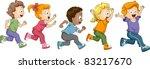 illustration of kids... | Shutterstock .eps vector #83217670