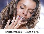 sexual female portrait   Shutterstock . vector #83255176