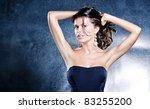sexual female portrait   Shutterstock . vector #83255200