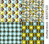 retro seamless pattern vintage... | Shutterstock .eps vector #83257123