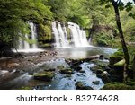 Waterfall On Mellte River ...