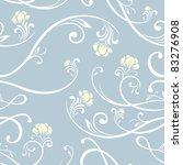 seamless flower pattern | Shutterstock .eps vector #83276908