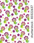 flower pattern | Shutterstock .eps vector #83322637