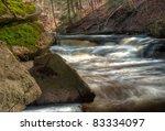 lower websters falls in... | Shutterstock . vector #83334097