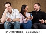 Third Wheel - stock photo