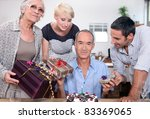 birthday party for father   Shutterstock . vector #83369065