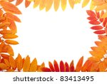 frame from multi coloured... | Shutterstock . vector #83413495