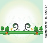 floral vector background .eps10 ...   Shutterstock .eps vector #83420017