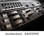Network Server - stock photo