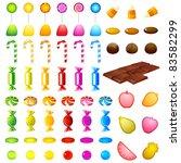 illustration of set of...   Shutterstock .eps vector #83582299