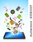 illustration of different ... | Shutterstock .eps vector #83582329