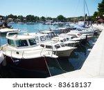 summer on an island in croatia... | Shutterstock . vector #83618137
