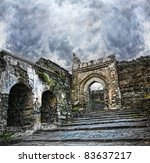 Ancient Daulatabad Fort With...