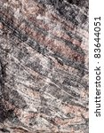 Gneiss Rock - stock photo