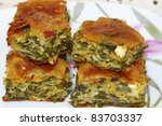 Traditional Greek Spinach Pie ...