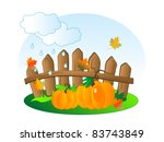 cloudy background with the... | Shutterstock .eps vector #83743849