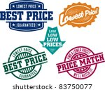 best price stamps | Shutterstock .eps vector #83750077