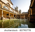 Постер, плакат: Roman Baths with Bath