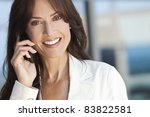 outdoor portrait of a beautiful ... | Shutterstock . vector #83822581