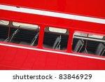 detail of london bus window. | Shutterstock . vector #83846929